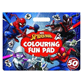 Marvel Spider-Man: Colouring Fun Pad (Giant Colour Me Pad Marvel)