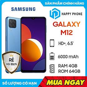 Điện Thoại Samsung Galaxy M12 (4GB/64GB) - Hàng Chính Hãng - Đã kích hoạt bảo hành điện tử