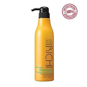 Dầu Gội Dưỡng Chất Livegain Premium Rich Protein Shampoo 500ml Hàn Quốc