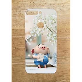 Ốp Lưng Dùng Cho Xiaomi Mi 8 Lite (Dẻo) - Heo Đọc Sach