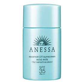 Tinh Chất Chống Nắng Cho Da Cực Nhạy Cảm & Da Bé Anessa Essence UV Sunscreen Mild Milk 14709 (20ml)