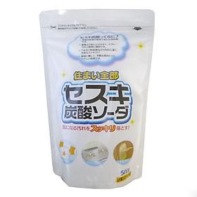 Bột baking soda Sesuki 500g (tẩy trắng) Rocket
