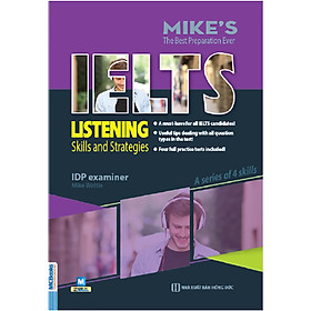 Ielts Listening-Skills And Strategies ( Bộ Sách Ielts Mike ) tặng kèm bookmark