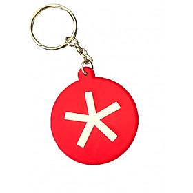 Móc khóa Blackberry màu đỏ