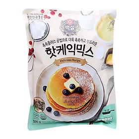 Bột Làm Bánh HotCake CJ Gói 500G - Nhập Khẩu Hàn Quốc