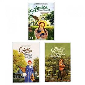Combo 3 cuốn Anne Tóc Đỏ Dưới Chái Nhà Xanh+Anne Tóc Đỏ Dưới Mái Nhà Bạch Dương+ Anne Tóc Đỏ Và Ngôi Nhà Mơ Ước( Tặng kèm bookmark Happy Life)