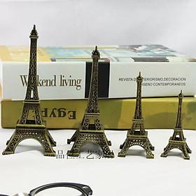 Tháp Eiffel Hợp Kim Mạ Đồng FXE1016
