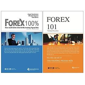 Sách - Combo Forex - Thị trường ngoại hối: Forex 101 + Forex 100%
