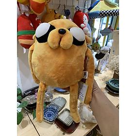 Gấu bông nhân vật Jake Giờ phiêu lưu Adventure Time hàng cao cấp 20cm