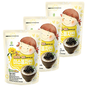 Combo 3 Gói Rong Biển Trộn Cơm Em Bé Cười Humanwell Vị Hạt Hướng Dương & Hạnh Nhân - Smile Seasoned Seaweed – Sunflower seed, almond (50g)