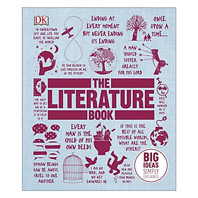 DK The Literature Book (Series Big Ideas Simply Explained)