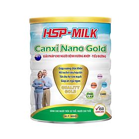 Sữa bột HSP Canxi Nano Gold cho người bệnh xương khớp, tiểu đường (hộp 900g)
