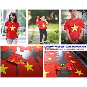 Áo Thun Cờ Đỏ Sao Vàng Giá Rẻ cho trẻ em
