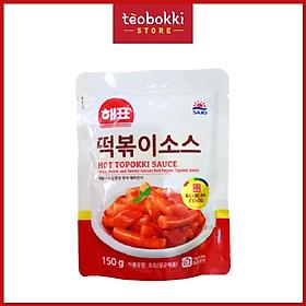 Sốt nấu tokbokki vị truyền thống Hàn Quốc