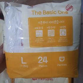 (4 gói) Tã Quần Hữu Cơ Nội Địa HAPPIANG Natural size L ( 7 - 11kg)-2