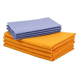 Hình đại diện sản phẩm 2/4/8PCS Microfiber Cleaning Cloths Towel Multi-functional Polishing Rags Kitchen Dishcloth Household Daily Absorbent
