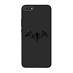 Ốp lưng dành cho điện thoại Huawei Y7 Pro 2018 in họa tiết Cánh dơi màu đen