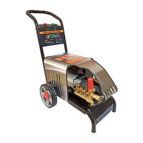 Máy rửa xe Romano RX2200, Công suất 2200W, Máy rửa xe cao áp chuyên dụng cho tiệm rửa xe, phun rửa công nghiệp