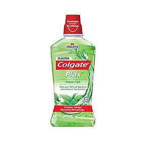 Nước súc miệng Colgate diệt 99% vi khuẩn Plax trà xanh 250ml