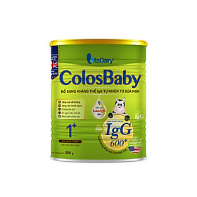 Sữa non COLOSBABY 600 IgG 1+ (400G)