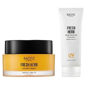 Combo dưỡng da và chống nắng hoàn hảo 2 Nacific