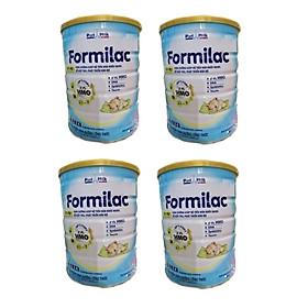 Bộ 4 Lon Sữa công thức Formilac Optipro số 1 (0-6 tháng) - 400g