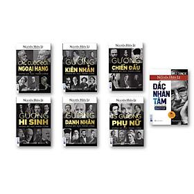 Combo Trọn Bộ 6 Cuốn Sách Sống Sao Cho Đúng ( Gương Chiến Đấu + Gương Kiên Nhẫn + Gương Hy Sinh + Các Cuộc Đời Ngoại Hạng + 15 Gương Phụ Nữ )( Tặng Kèm Đắc nhâm tâm và bút chì dễ thương )