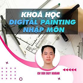 Khóa học THIẾT KẾ - ĐỒ HỌA - Digital Painting Nhập Môn (Vẽ môi trường)