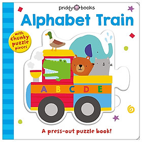 Puzzle And Play: Alphabet Train: A Press-Out Puzzle Book!