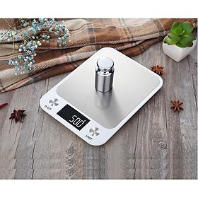 Cân tiểu ly điện tử nhà bếp cao cấp tải trọng 5kg C18 ( Tặng kèm pin )