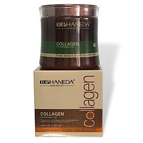Kem ủ tóc Top Haneda Collagen for Demaged hair mask phục hồi siêu mượt 500ml - Hàng chính hãng