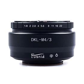 Camera Lens Adapter Ring For Voigtländer DKL Lens To