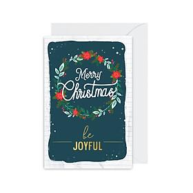 Thiệp Christmas - Be Joyful Fairy Corner