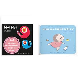 Sách Ehon Moi Moi - Ehon Tengu 6 tháng tuổi  - Giúp bé ngừng khóc