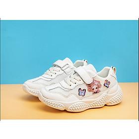 Giày thể thao cho bé gái chất dù thoáng siêu nhẹ ETT005