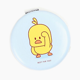 Gương trang điểm vịt vàng dễ thương tròn - DMCTB103