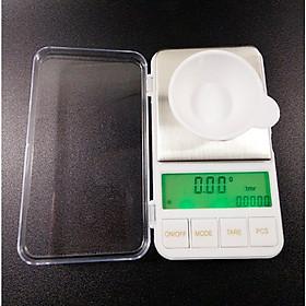 Cân tiểu ly điện tử 2 đơn vị cân cùng lúc - kèm dĩa cân (500g - 0.01g)