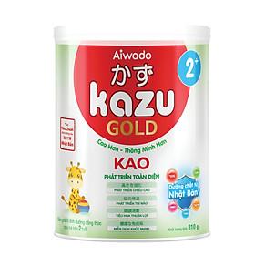 [Tinh tuý dưỡng chất Nhật Bản]  Sữa bột KAZU KAO GOLD 810g 2+ (trên 24 tháng)