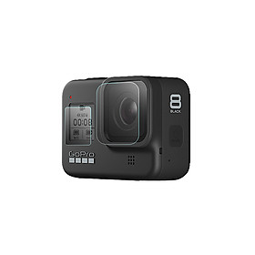 HD Tempered Glass Film Set for Go Pro HERO 8 Black Camera Lens Screen Protector Dust-proof Protective Film Sports Action