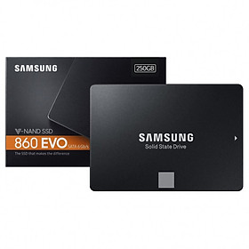 Ổ Cứng SSD Samsung 860 EVO 250GB 2.5 inch SATA iii MZ-76E250BW - Hàng Nhập Khẩu