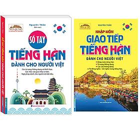 Combo Min Jung - Sổ Tay Tiếng Hàn Dành Cho Người Việt (Kèm Tải File CD Đính Kèm)+Nhập Môn Giao Tiếp Tiếng Hàn Dành Cho Người Việt