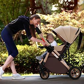 Xe đẩy cho bé 2 chiều 3 tư thế mẫu mới 2020