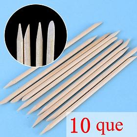 Set 10 que gỗ làm sạch móng chuyên nghiệp-2