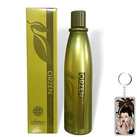 Dầu gội giảm gàu, vảy nến Orzen Anti Dandruff Shampoo Obsidian Hàn Quốc 320ml tặng kèm móc khoá