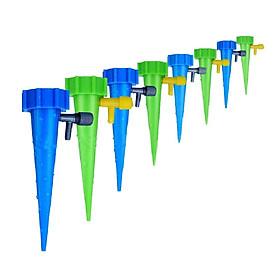 Bộ 12 hiết bị tưới nước tự động nhỏ giọt van xả chậm tưới cây thông minh thế hệ mới