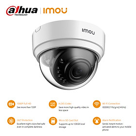 Dahua imou 2MP Home Security Camera Wireless Wifi Surveillance IP Camera 1080P Full HD Night Vision Motion Detection