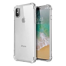 Ốp Lưng Dẻo Chống Sốc Phát Sáng Cho iPhone X/XS Dada (Trong Suốt) - Hàng Chính Hãng