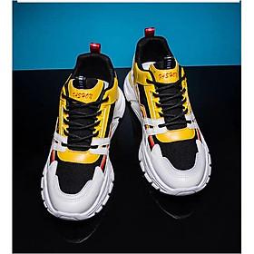 Giày Thể Thao Nam. giày nam Mã 8801 3 màu, White, Red, Yellow