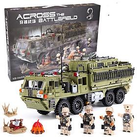 Bộ Lắp Ráp Xe Tải Quân Sự Hạng Nặng Xingbao 06014 - Army XB06014