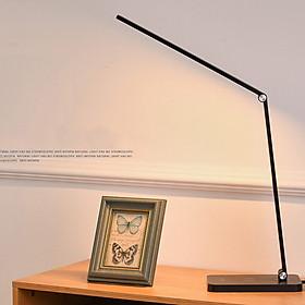 Đèn Bàn Học Đọc Sách, Làm Việc (Học Sinh, Sinh Viên, Văn Phòng) Đèn LED Chống Cận, Đèn Ngủ, Cảm Ứng Nhôm Cao Cấp eLights Độ Sáng 700Lumen, 3 Cấp Độ Sáng, 5 Chế Độ Màu, Có Cổng Sạc USB Cho Điện Thoại